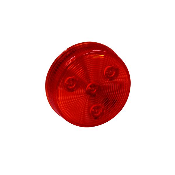 """2 1/2"""" 4 LED Round Marker Light w/o Grommet"""