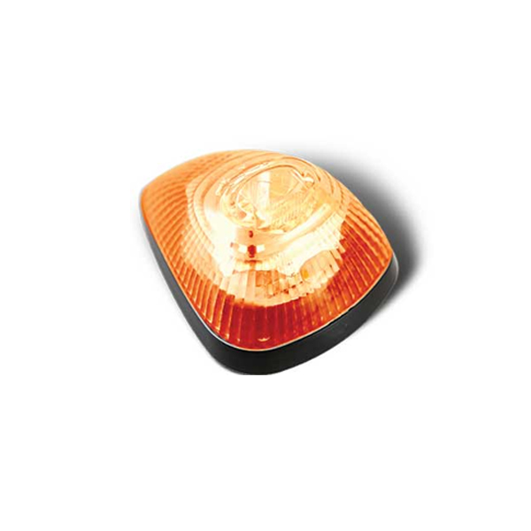 5 Strobe / Marker Light Set, Amber 5 Diode LED Roof Lights