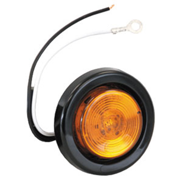 "2"" Round Marker Light, 1 LED Amber"