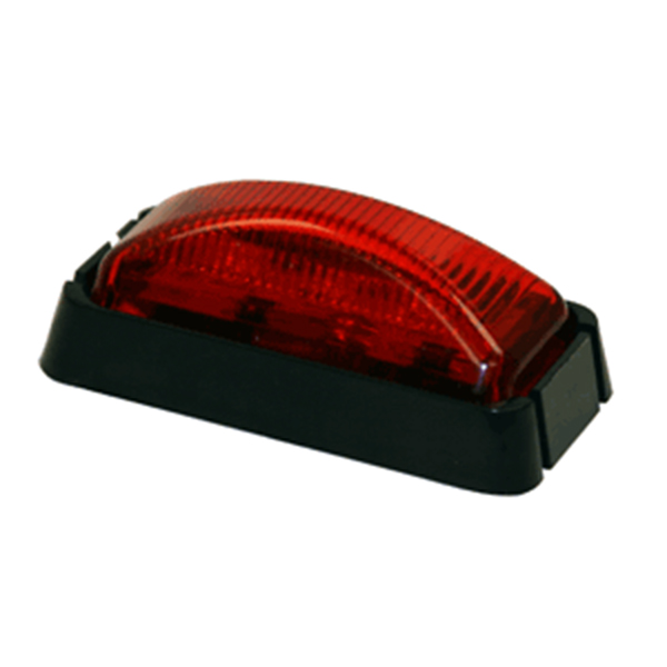 "2-1/2"" Rec. Marker Light, 3 LED Red"