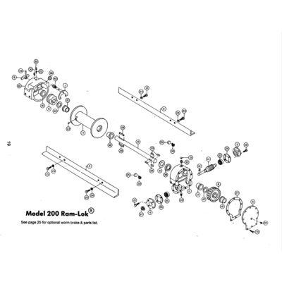 Capscrew 1/4-20NCx7/8 LG. HX.HD. GR.5