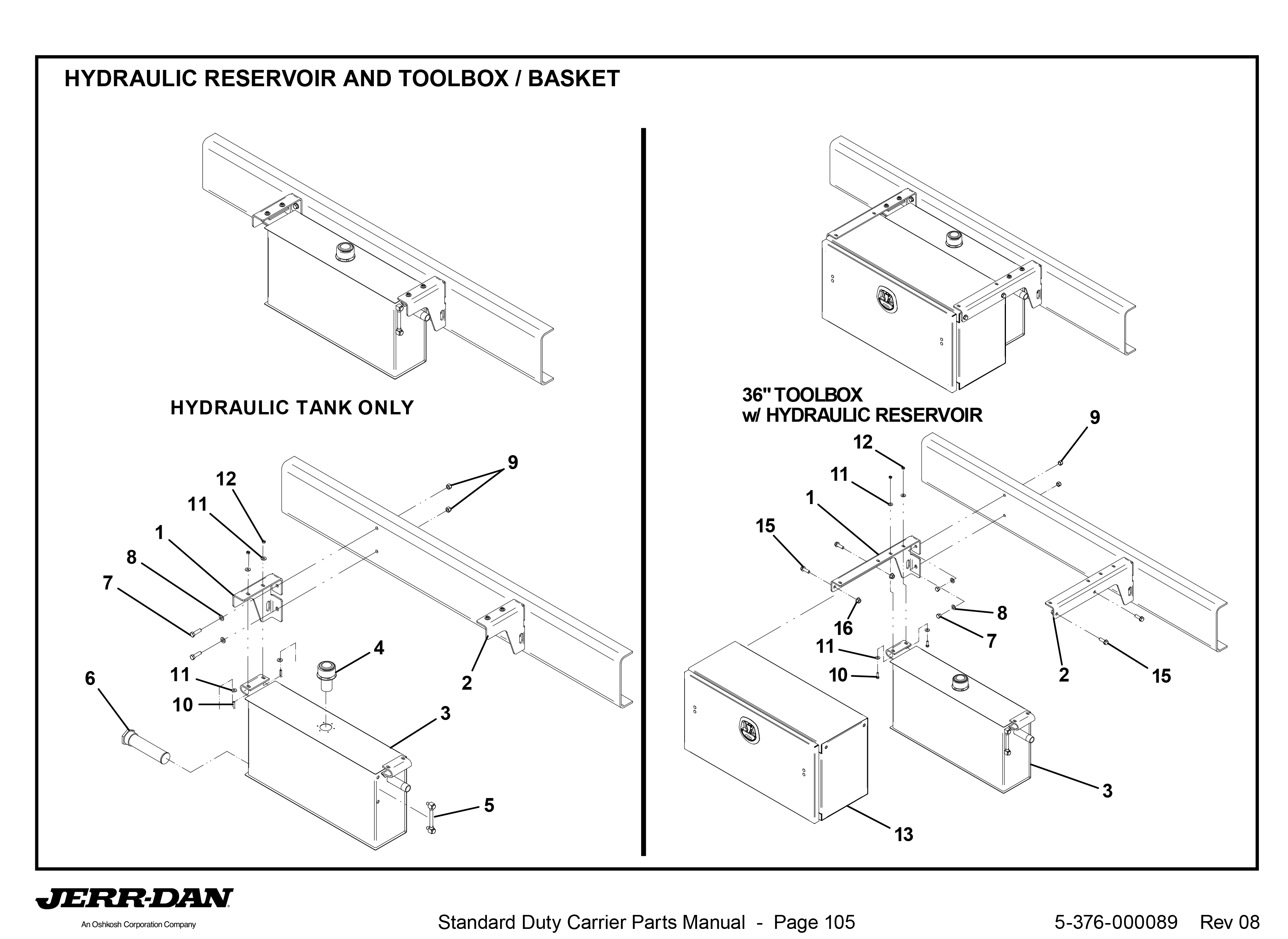 Mounting Bracket - Short (Part 2)