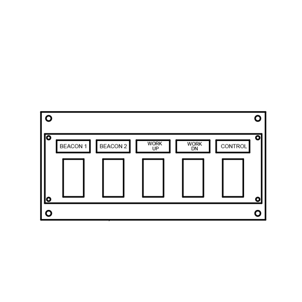 Switch Panel - 5 Function
