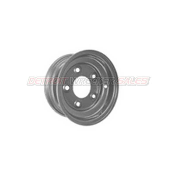 WHEEL STEEL, SILVER E-COATED