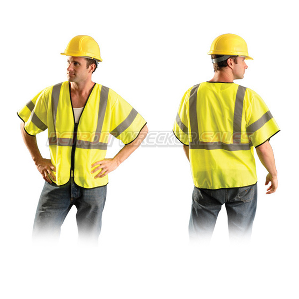 Class 3 Safety Vest w/ Zipper