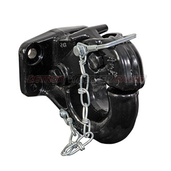 15-Ton Heavy-Duty Pintle Hook with Mounting Kit