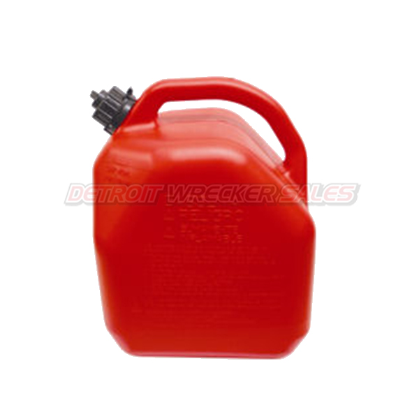 5-Gallon Plastic 'Gas' Can (Red)