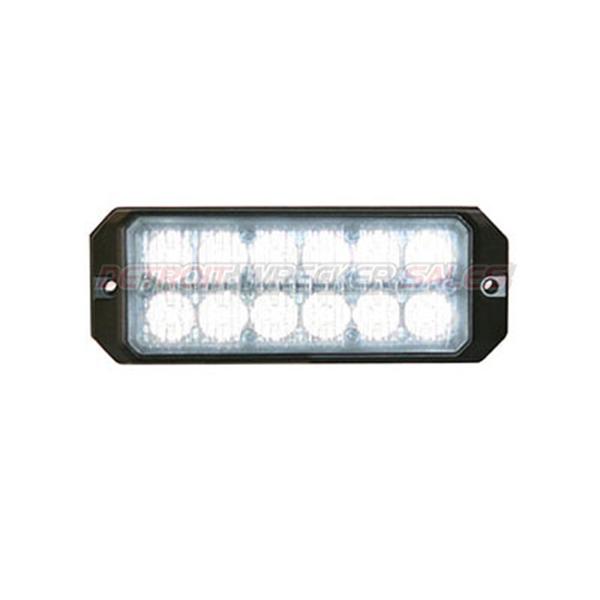 """5"""" 12 LED, Light Strobe, Clear"""