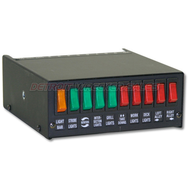 10 Button Switch Panel