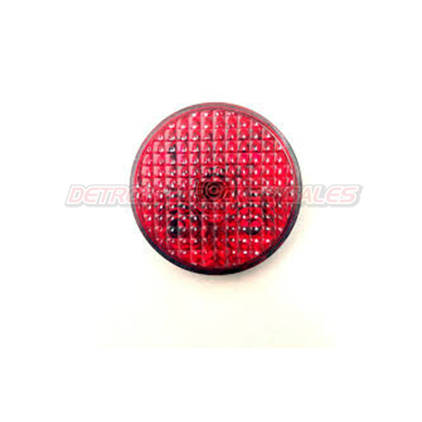 "4"" LED Red by TecNiq Lifetime Warranty MADE IN USA"