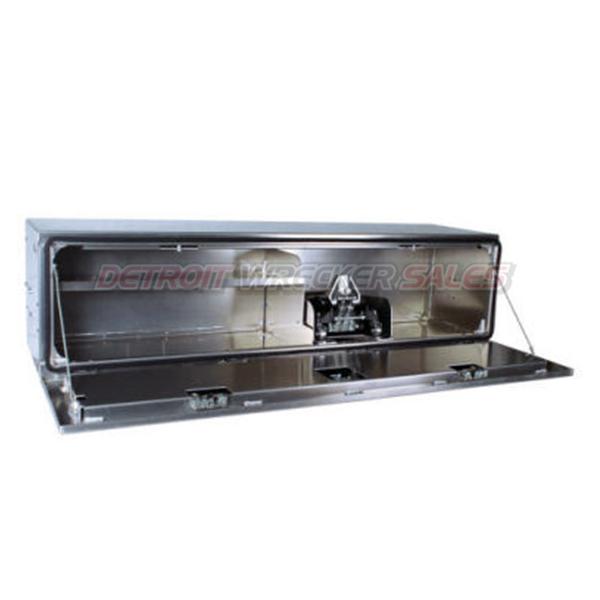 "70"" Pro Series Tool Box with Floor Jack Mount and Half Shelf"