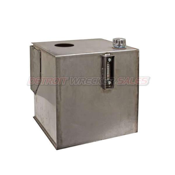30-Gallon SS Hydraulic Reservoir w/Filter #10