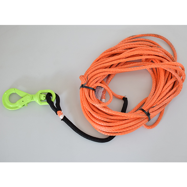 3/8 Synthetic Winch 150Ft Line Self Locking Hook