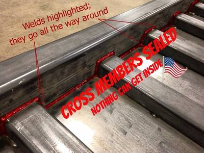 Replacement Steel Beds