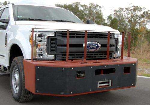 Push Bumper 2017 Ford Superduty F 250 350 4 215 4 Trucks Pb
